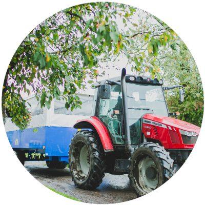 Spilmans-tractor
