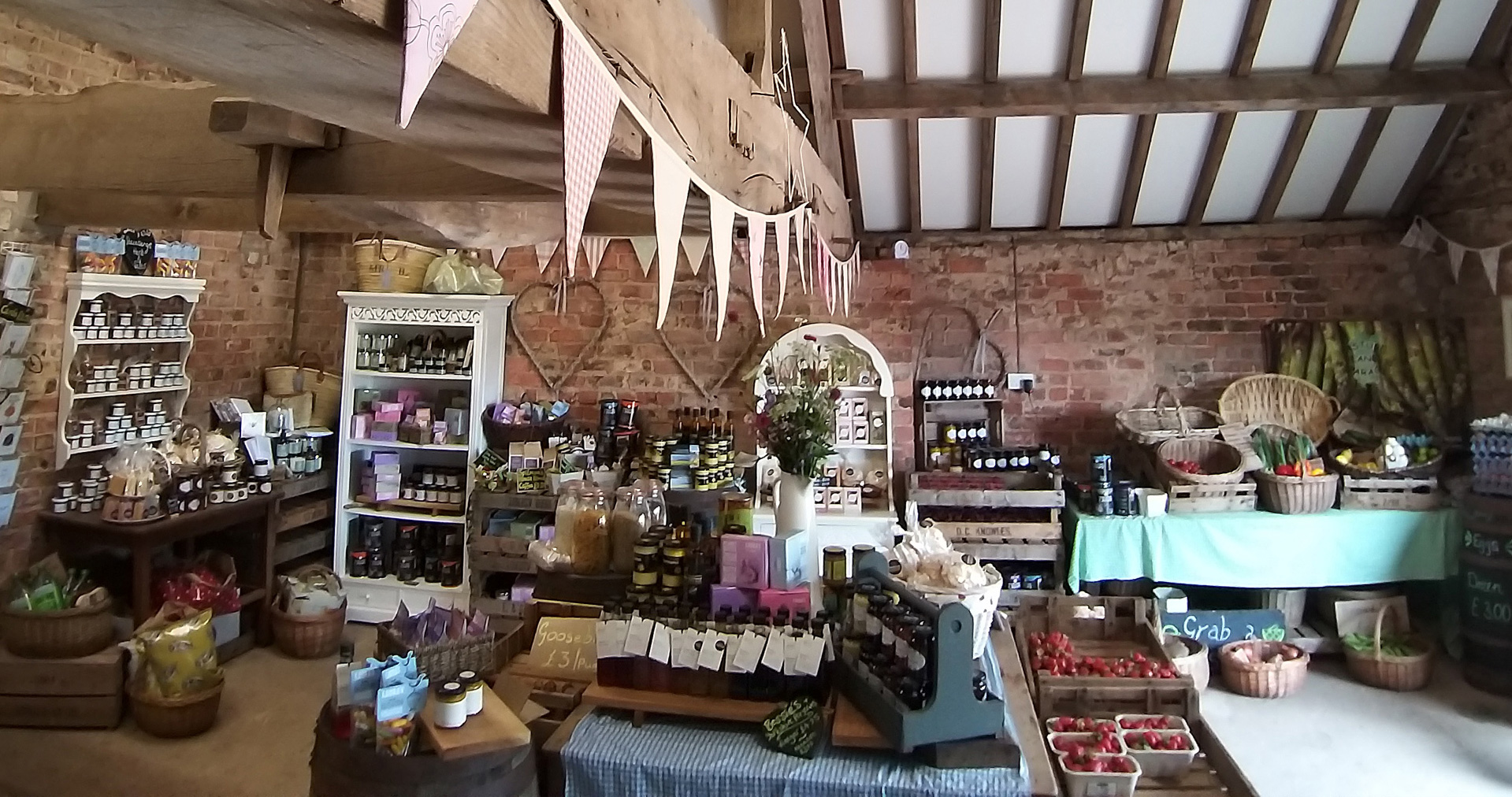 OUR FABULOUS FARM SHOP