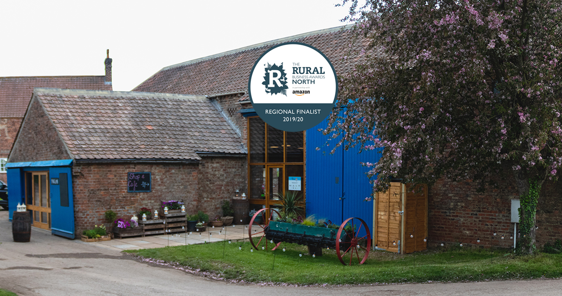 We are Rural Business<br>Awards Finalists!